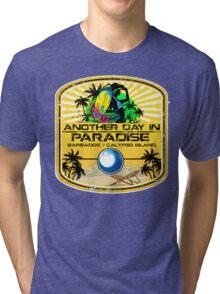 Barbados Calypso Island Tri-blend T-Shirt
