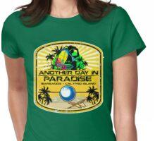 Barbados Calypso Island Womens Fitted T-Shirt