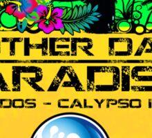 Barbados Calypso Island Sticker