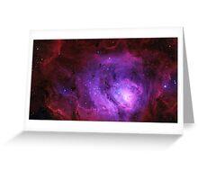 Beautiful Galaxy Greeting Card