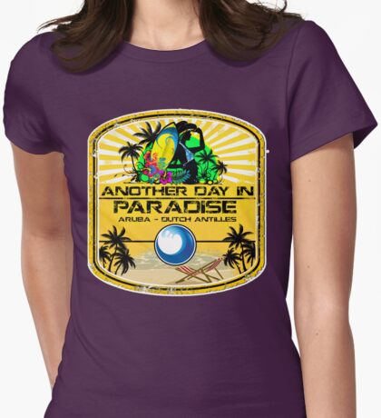 Aruba Land Womens Fitted T-Shirt