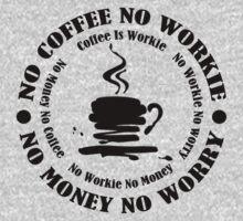 No COFFIE No WORKIE by dejava