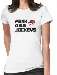 Punk Ass Book Jockeys Womens Fitted T-Shirt