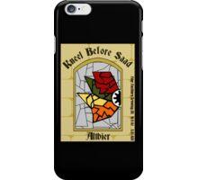 Kneel Before Saad iPhone Case/Skin