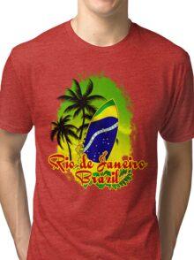 Rio Finest Surfer Place Tri-blend T-Shirt