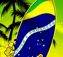 Rio Finest Surfer Place Sticker