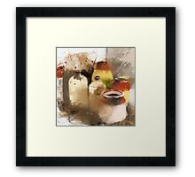 Empty vessels Framed Print