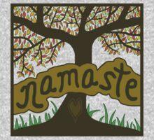 NAMASTE Tree by juliabohemian
