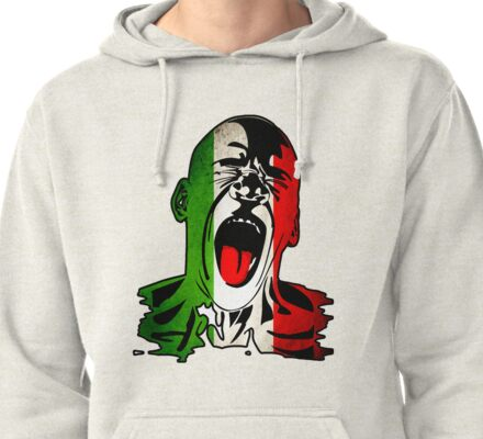 Italian FC Brazil 2014 World Cup Pullover Hoodie