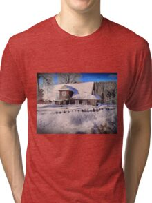 Sunny day after a snow storm  Tri-blend T-Shirt