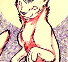 Esotric Cat Sticker