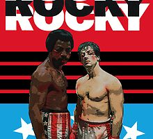 ROCKY the ultimate classic underdog movie T-SHIRT by shooterch