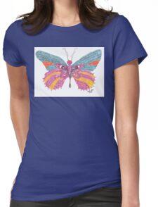 Butterfly Blogger Original Art Womens Fitted T-Shirt