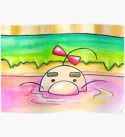 Hot Springs Mr Saturn Poster