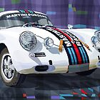 Porsche 356 Martini Racing by Yuriy Shevchuk