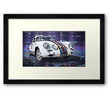Porsche 356 Martini Racing Framed Print