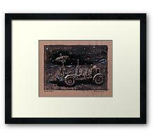 Lunar Rover  Framed Print