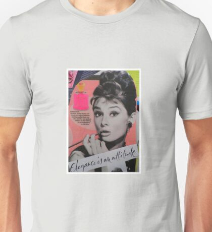 Elegance is an attitude  Unisex T-Shirt