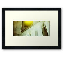 that last time was the worst. Framed Print