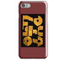 Roadworks Sign iPhone Case/Skin