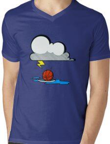 Beat the Heat Mens V-Neck T-Shirt