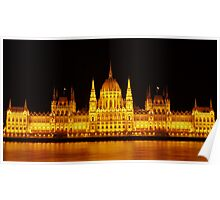 Budapest parlaiment Poster
