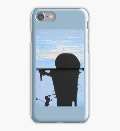 Door Man iPhone Case/Skin