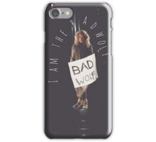 Bad Wolf // Rose Tyler iPhone Case/Skin