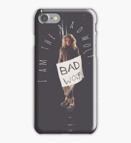 Bad Wolf // Rose Tyler iPhone Case/Skin