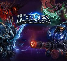 Heroes of the Storm by malapipa