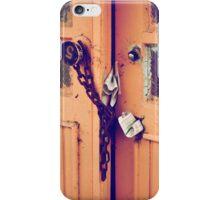 old opened door iPhone Case/Skin