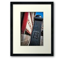 The Dementor Is In The Details Framed Print
