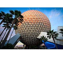 Our Spaceship Earth Photographic Print