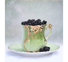 Cup O Berries Photographic Print