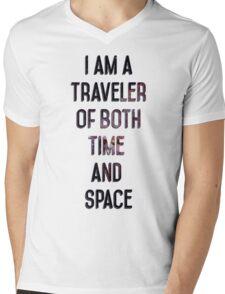 Led Zeppelin Kashmir Mens V-Neck T-Shirt
