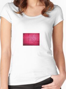 port kembla sketch Women's Fitted Scoop T-Shirt