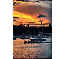 Rose Bay marina Photographic Print