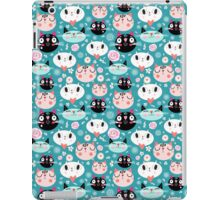 pattern of love funny cats iPad Case/Skin