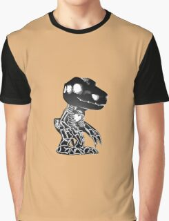 Skull Agumon Graphic T-Shirt
