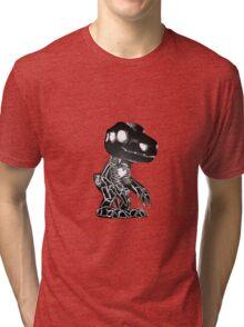 Skull Agumon Tri-blend T-Shirt