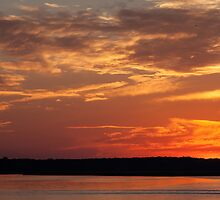 May River Sunset by George Cathcart