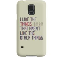 The Things I Like Samsung Galaxy Case/Skin