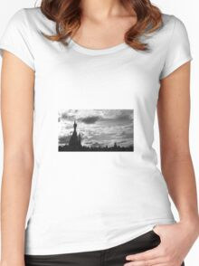 Castle Women's Fitted Scoop T-Shirt