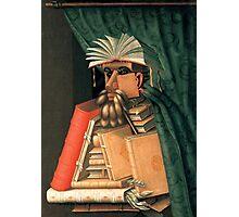 Giuseppe Arcimboldo - The Librarian Photographic Print