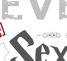 Clever is the New Sexy Sticker