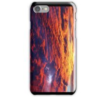Colorful Mixtures in the Late Afternoon Sky iPhone Case/Skin