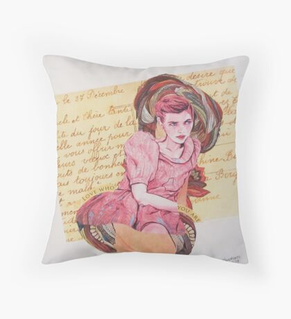 27 Decembre Throw Pillow