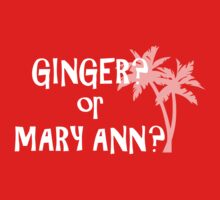 Ginger or Mary Ann? by cpotter