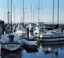Edmonds Yacht Club by Robert Meyers-Lussier