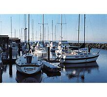 Edmonds Yacht Club Photographic Print